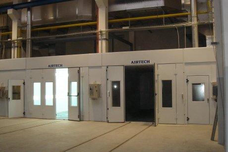 Lakovací kabiny AIRTECH